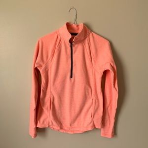 Orange SO Half Zip Sweatshirt